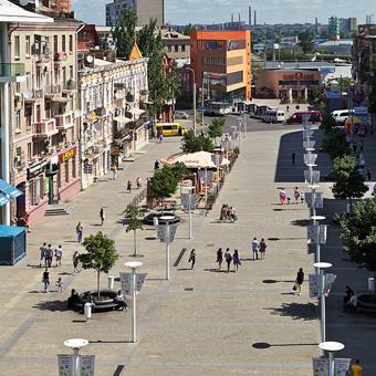 Европейская площадь г.Днепропетровск