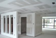 Декорирование стен. Облицовка стен гипсокартоном.