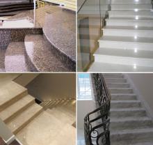 Лестницы из натурального камня. Изготовление и монтаж.